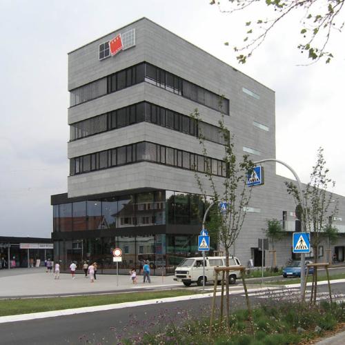 Einkaufszentrum Insel Weil